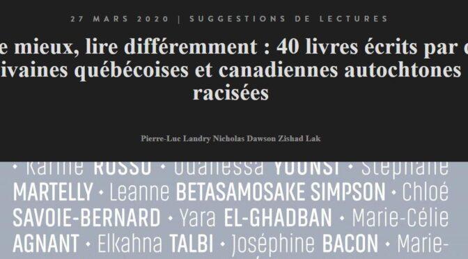Résistance 2/101 : «ourse bleue», Virginie Pésémapéo Bordeleau