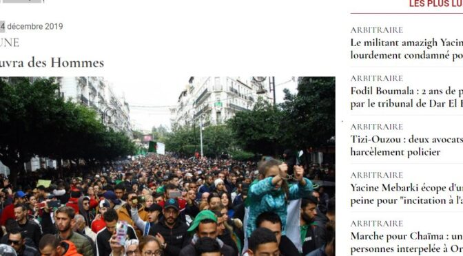 Résistance 1/101 : Mohand Ouabdelkader, Le Matin d'Algérie
